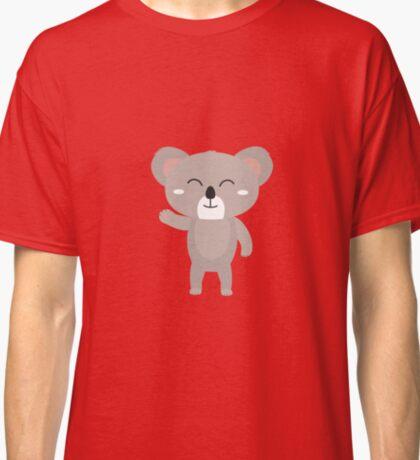 Friendly waving koala Classic T-Shirt