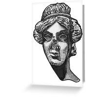 Roman Head I Greeting Card