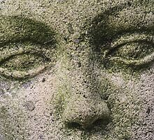 Garden Statue Face by Pixie Copley LRPS