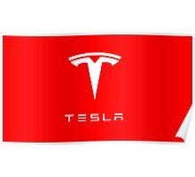 Tesla Logo Merchandise Poster