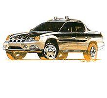 Subaru Baja Ute Pickup by fadouli