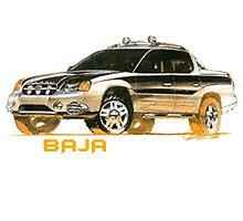 Subaru Baja 1 Ute Pickup by fadouli