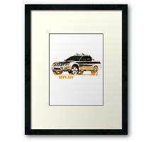 Subaru Baja 1 Ute Pickup Framed Print