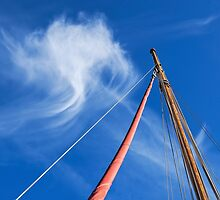 Masts and Clouds by Susie Peek