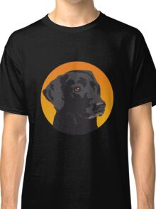 Dog in hole Classic T-Shirt