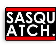 Sasquatch Run! Canvas Print