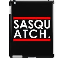 Sasquatch Run! iPad Case/Skin