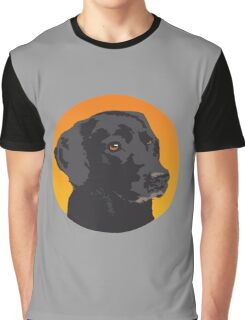 Dog in hole Graphic T-Shirt