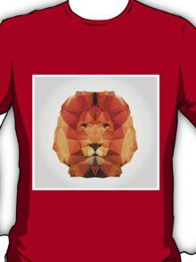 Geometric polygon lion T-Shirt