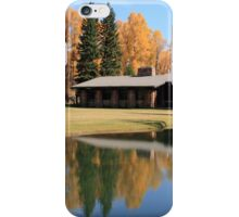 Living in a Golden Paradise iPhone Case/Skin
