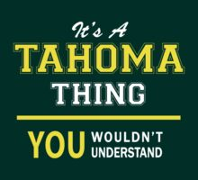 It's A TAHOMA thing, you wouldn't understand !! by satro