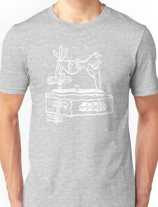 Flintstones Vinyl Record Dj Turntable Unisex T-Shirt