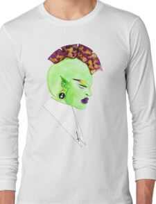 The Mohawk Elf Princess Long Sleeve T-Shirt
