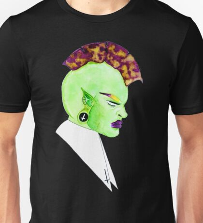 The Mohawk Elf Princess Unisex T-Shirt