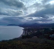 Killiney Hill, Dublin by karlmagee