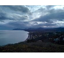 Killiney Hill Dublin Photographic Print