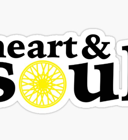 Heart & Soul Cycle Sticker