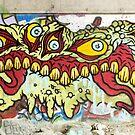 Graffiti Norwich Vermont by Edward Fielding