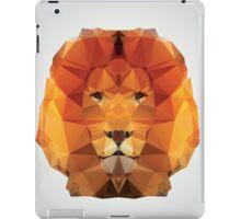 Geometric polygon lion iPad Case/Skin