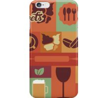 Food Icons iPhone Case/Skin