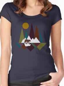 Bear Mountain Women's Fitted Scoop T-Shirt