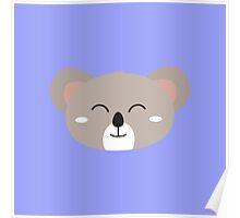Happy Koala head Poster