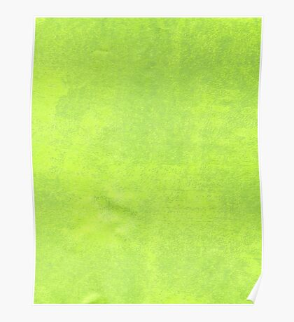 Abstract green paper Poster
