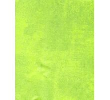 Abstract green paper Photographic Print