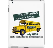 Seinfeld Kramer Peterman Reality Tour Shirt iPad Case/Skin
