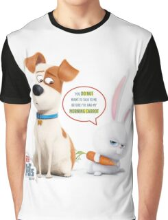 The Secret Life Of Pets  max Graphic T-Shirt