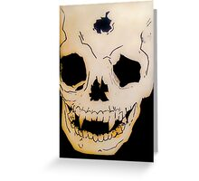 Death Of The Undying Greeting Card