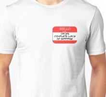 Fight Club - I am Jack's complete lack of surprise Unisex T-Shirt