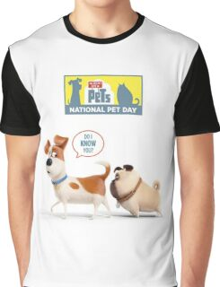 the secret life of pets White 01 Graphic T-Shirt