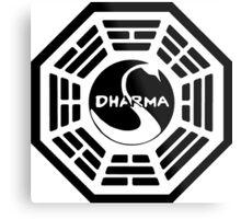 Dharma Swan Station Metal Print