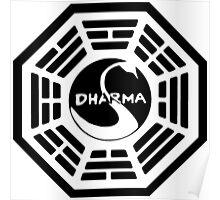 Dharma Swan Station Poster