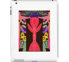 The Inspiration of The Pink Rose iPad Case/Skin