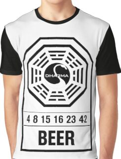 Dharma Beer Tag Graphic T-Shirt
