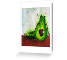 Just One Avocado Greeting Card