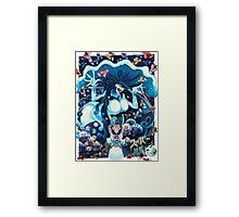 Toadstool Mage Framed Print