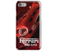 1962 Ferrari 250 GTO iPhone Case/Skin