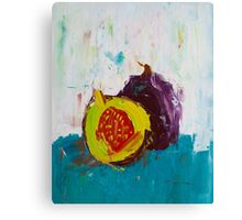 Fig in the Frame Canvas Print