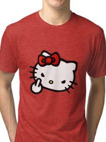 Hello Fucker Tri-blend T-Shirt