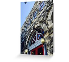Old City Building Greeting Card