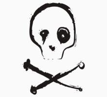 Skull and bones #2 One Piece - Short Sleeve