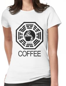 Dharma Coffee Womens Fitted T-Shirt