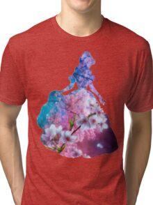 Flower Garden inspired Character Tri-blend T-Shirt