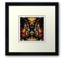 """""""Rickson Gracie"""" Framed Print"""