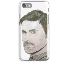 Colin O'Donoghue pencil drawing iPhone Case/Skin