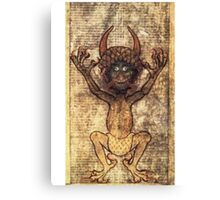 Codex Gigas Canvas Print