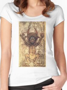 Codex Gigas Women's Fitted Scoop T-Shirt
